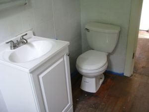 Sink and Commode!