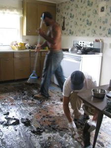 Kitchen tar-goo slavery.
