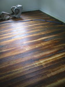 Whiskey Barrel flooring!